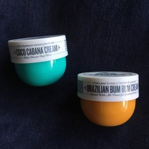 Other - NEW Brazilian Bum Bum Cream and Coco Cabana Cream
